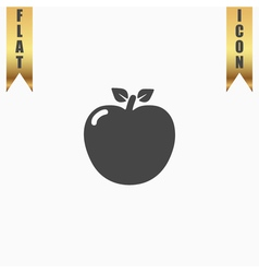apple - icon vector image vector image