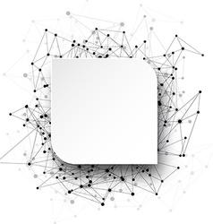 Global communication background vector