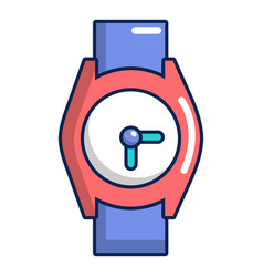 Hand watch icon cartoon style vector
