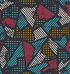 urban seamless pattern vector image vector image