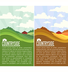 Countryside vector