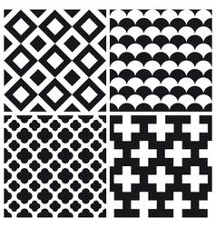 set patterns 1 vector image
