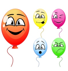 Party balloons vector