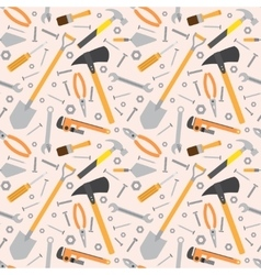 Seamless Tools Pattern vector image