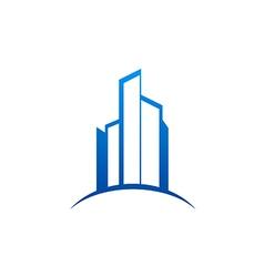 City building construction logo vector