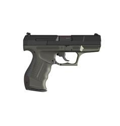 detailed hand gun vector image