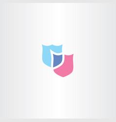 Shield logo clip art icon vector