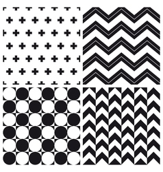 set patterns 2 vector image