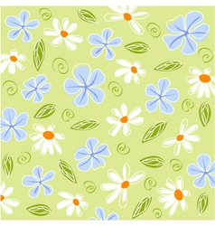 Floral card and fabric texture vector