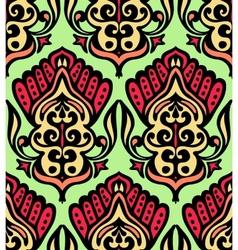 Damask seamless floral design vector image vector image