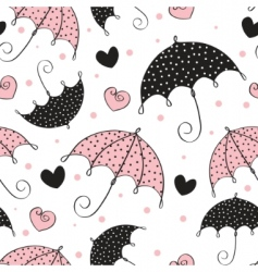 umbrella background vector image vector image
