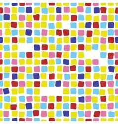 Colorful mosaic seamless pattern tile vector