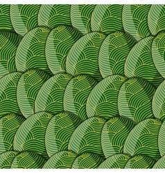 Egg line pattern vector