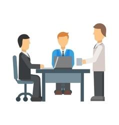 Business meeting vector