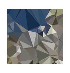Ash grey abstract low polygon background vector