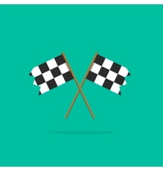 Finish flags icon vector