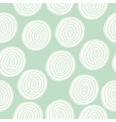 Seamless pattern with doodle circles vector