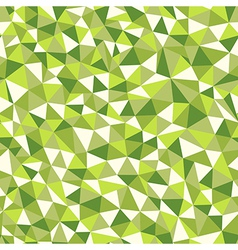 Seamless texture with triangles mosaic endless vector image vector image