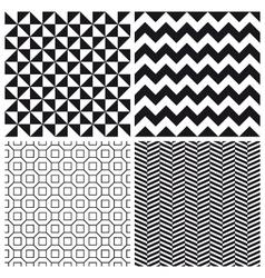 set patterns 3 vector image