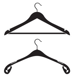Hanger icon resize vector image