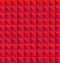 Seamless relief pyramid pattern vector image