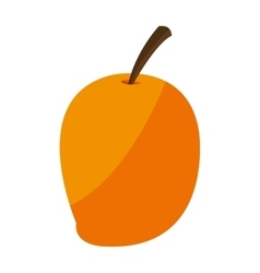 Ripe mango icon vector