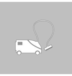 hoover computer symbol vector image