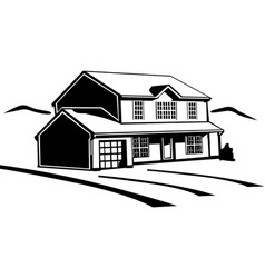 Dr00062 house vector