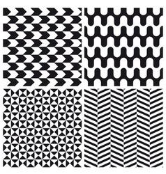 set patterns 4 vector image