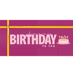 Happy birthday design element vector