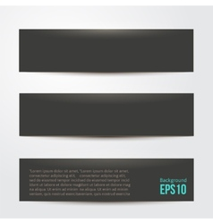 Pure black background for your design vector