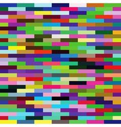 Multicolored bricks background vector
