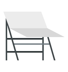Screen icon flat style vector image