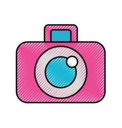 Photographic camera digital vector