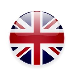 Round icon with flag of the uk vector