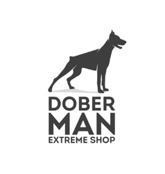 Doberman logo vector