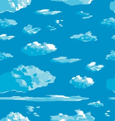 Clouds texture vector