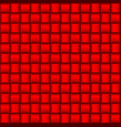abstract red cell textures for creative design vector image