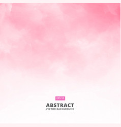 Abstract white cloud detail in pink sky vector