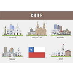 Chile vector image vector image
