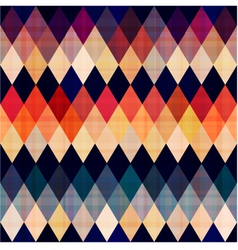 colorful seamless argyle pattern vector image vector image