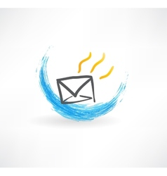 Mail icon vector image vector image