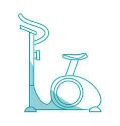 Spinning gym equipment vector