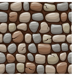 colored old stone texture cartoon seamless vector image