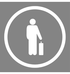 Passenger icon vector