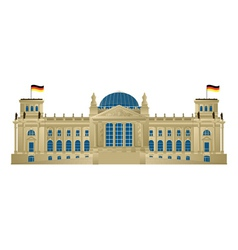 Reichstag vector image