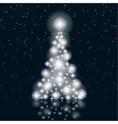 Christmas sree vector image vector image