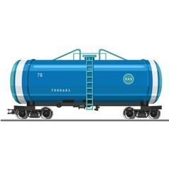 Gas Tank vector image