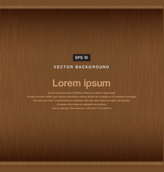 Wood background and texture surface vector