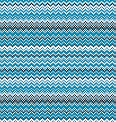 Blue chevrons seamless pattern background retro vector